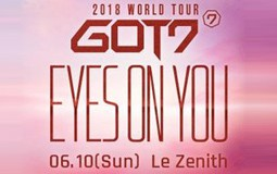 REPORT - GOT 7 WORLD TOUR à Paris