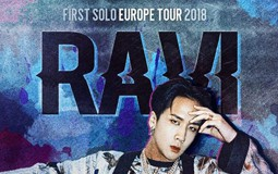 Ravi (VIXX) - First Solo Europe Tour 2018