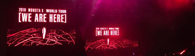 REPORT - MONSTA X - WORLD TOUR - WE ARE HERE